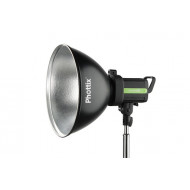 Phottix Wide Angle Reflector with Grid and Diffuser (Bowens Mount, 35cm, 13.8, Silver)