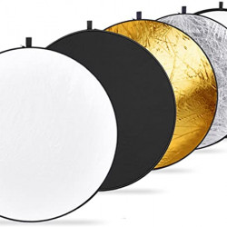 """5 in 1 Light Multi Collapsible Reflector 80cm (32"""")"""